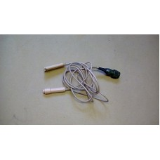 RACAL COUGAR PRM4515 COVERT MICROPHONE AND PTT CABLE ASSY 7PM